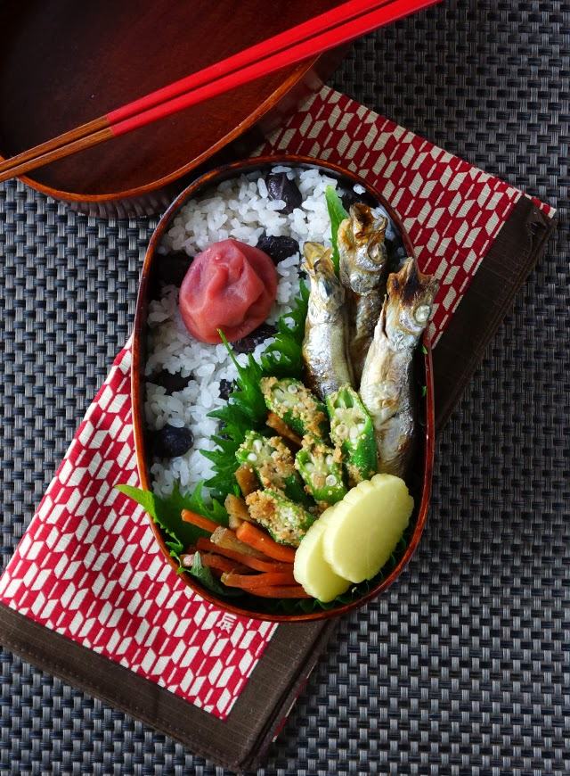 Roasted capelin bento/ししゃも弁当