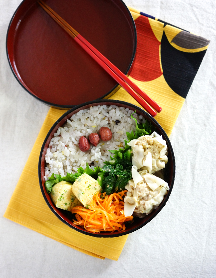 Steamed meat dumpling bento/焼売弁当