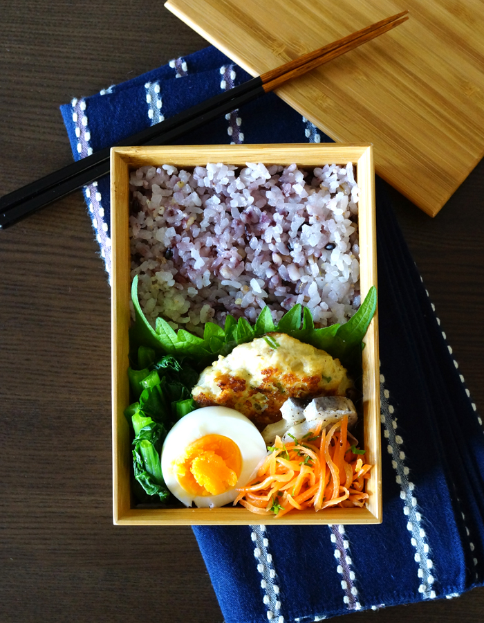 Chicken hamburger steak bento/鶏肉ハンバーグ弁当