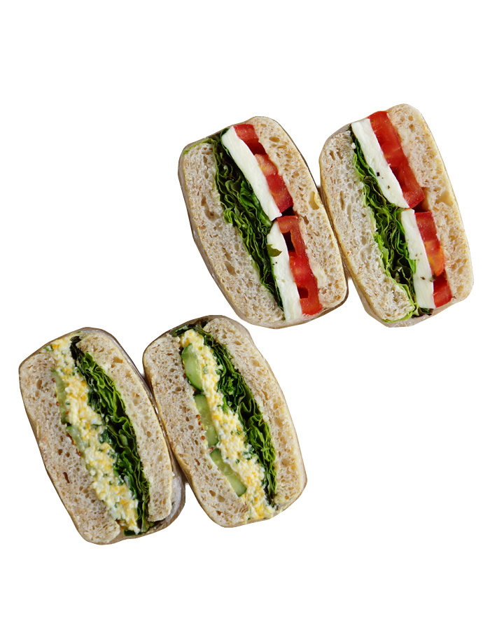 How to make sandwich for bento #001/5 steps for caprese sandwich