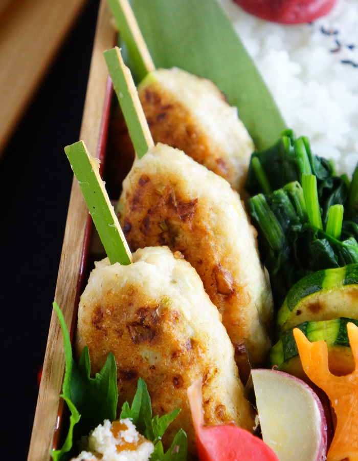 Tsukune, chicken meatballs