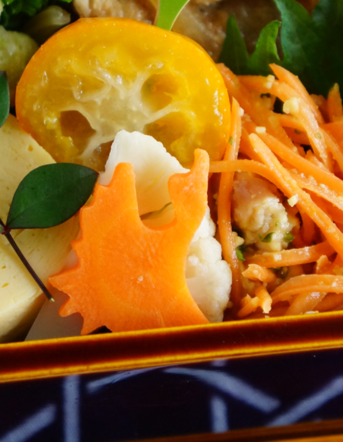 pickled cauliflower and carrot