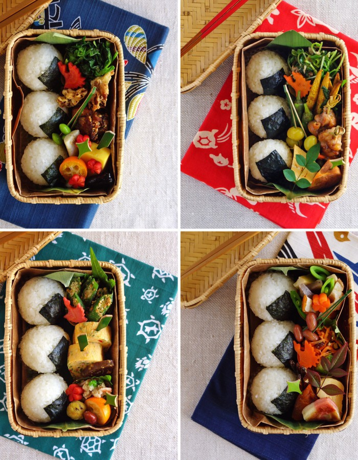 My favorite rice ball bentos