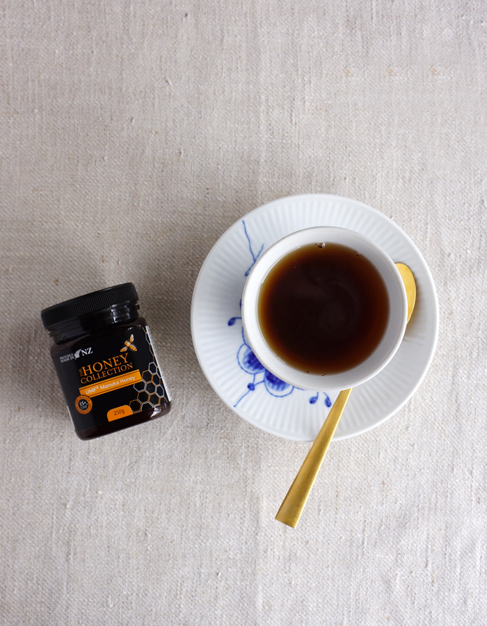 Manuka honey tea