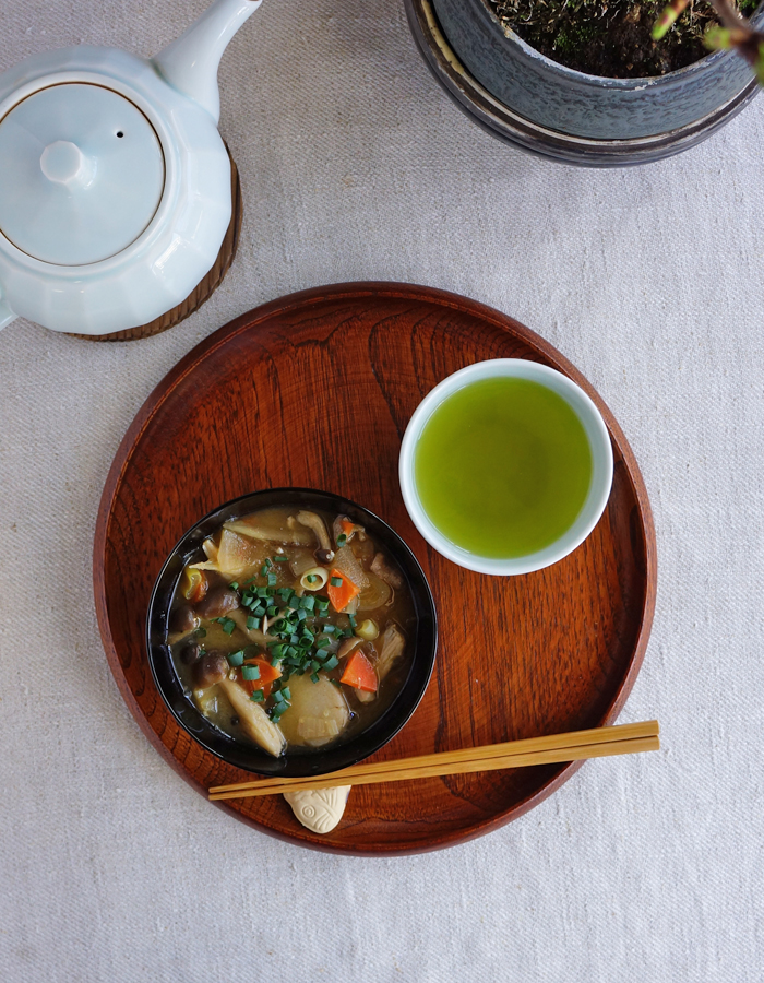 Cozy up with miso soup
