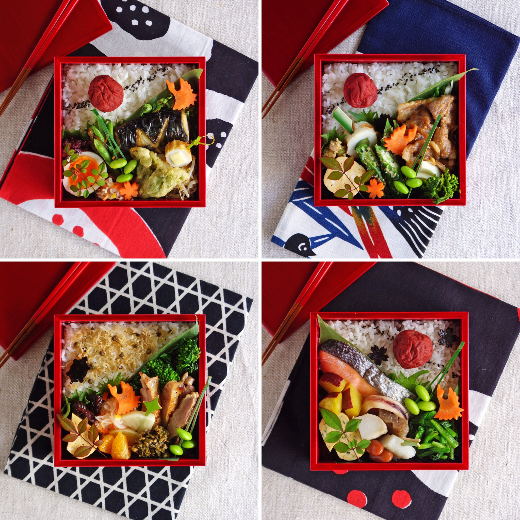 my favorite bentos!