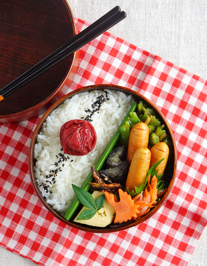 Grilled sausages bento/グリルソーセージ弁当